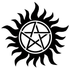 Protection Tattoo - Supernatural - Pentagram