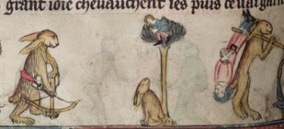 Marginalia - Rabbits Hunting People