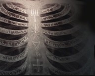 Supernatural ribs with enochian runes
